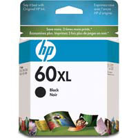 HP No. 60XL Black Ink Cartridge - CC641WA