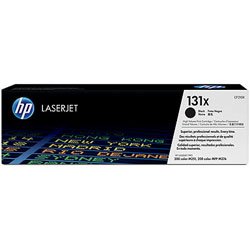 HP No. 131X High Yield Black Original LaserJet Toner Cartridge (CF210X)