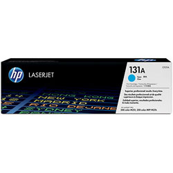 HP No. 131A Cyan Original LaserJet Toner Cartridge (CF211A)