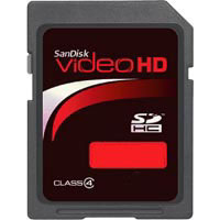 SanDisk Video HD Card 4GB/8GB/16GB
