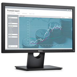 "Dell E1916H 18.5"" VGA LED Monitor"