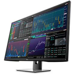"Dell Ultra P4317Q 43"" HD 4K Multi Client Monitor"