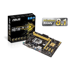 ASUS H81M-PLUS LGA1150 Intel H81 Motherboard