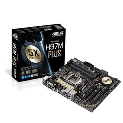 ASUS H97M-PLUS LGA1150 Intel H97 Motherboard