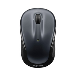 Logitech M325 Wireless Mouse (Light Silver) - 910-002325