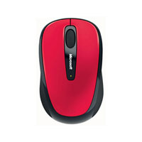 Microsoft Wireless Mobile Mouse 3500 BlueTrack™ (Hibiscus Red)