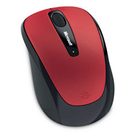 Microsoft Wireless Mobile Mouse 3500 BlueTrack™ (Poppy Red)