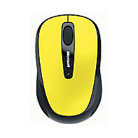 Microsoft Wireless Mobile Mouse 3500 BlueTrack™ (Solar Yellow)