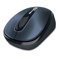 Microsoft Wireless Mobile Mouse 3500 BlueTrack™ (Gray Metal) - GMF-00145