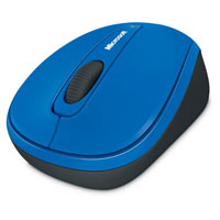 Microsoft Wireless Mobile Mouse 3500 BlueTrack™ (Cobalt Blue) - GMF-00212