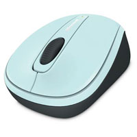 Microsoft Wireless Mobile Mouse 3500 BlueTrack™ (Aqua Blue) - GMF-00213