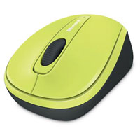 Microsoft Wireless Mobile Mouse 3500 BlueTrack™ (Citron Green) - GMF-00214