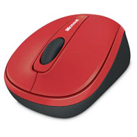 Microsoft Wireless Mobile Mouse 3500 BlueTrack™ (Flame Red) - GMF-00215