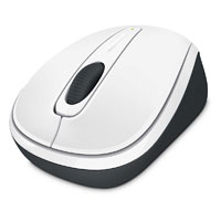 Microsoft Wireless Mobile Mouse 3500 BlueTrack™ (White Gloss) - GMF-00216
