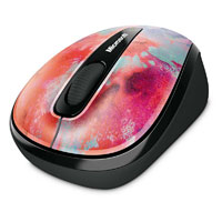 Microsoft Wireless Mobile Mouse 3500 BlueTrack™ Limited Edition Artist Series (Artist Tchmo) - GMF-00219