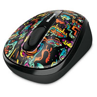 Microsoft Wireless Mobile Mouse 3500 BlueTrack™ Limited Edition Artist Series (Artist Zhoe) - GMF-00221