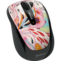 Microsoft Wireless Mobile Mouse 3500 BlueTrack™ Limited Edition Artist Series (Artist James) - GMF-00250