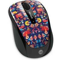 Microsoft Wireless Mobile Mouse 3500 BlueTrack™ Limited Edition Artist Series (Artist Lyon) - GMF-00270