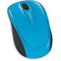 Microsoft Wireless Mobile Mouse 3500 BlueTrack™ (Cyan Blue) - GMF-00275