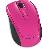 Microsoft Wireless Mobile Mouse 3500 BlueTrack™ (Magenta Pink) - GMF-00280