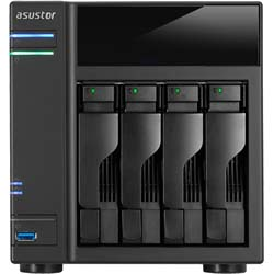 Asustor AS6104T Home to Power User Network Attached Storage (NAS)