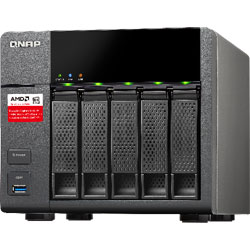 QNAP TS-563 5-Bay Network Attached Storage NAS Server - TS-563-2G