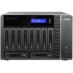 QNAP TVS-EC1080 10-Bay Network Attached Storage NAS Server (Intel Core i3) - TVS-EC1080-I3