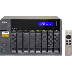 QNAP TS-853A 8-Bay Network Attached Storage NAS Server - TS-853A-4G