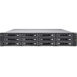 QNAP TVS-EC1280U-SAS-RP R2 12-Bay Network Attached Storage NAS Server - EC1280U-SAS-R2