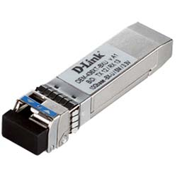 D-Link DEM-436XT-BXU Bidirectional SFP Transceiver 1 Port 10GBASE-LR for Singlemode Fiber Optic Cable