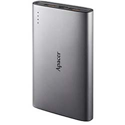 Apacer B520 10000mAh Mobile Power Bank (Sliver) - APB520A-1