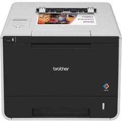 Brother HL-L8350CDW High-Speed Colour Laser Printer with Automatic 2-sided Printing, Wired and Wireless Networking