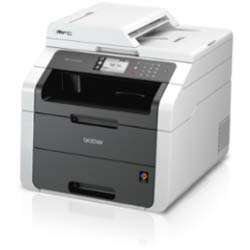 Brother MFC-9140CDN Network High-Speed Colour Laser Printer with Automatic 2-sided Printing and Networking