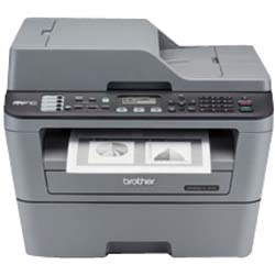 Brother MFC-L2700DW 5-in-1 Wireless Mono Laser Multi-Function Centre with Automatic 2-sided Printing