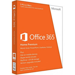 Microsoft Office 365 Home 32/64 Thai Subscr 1YR Thailand Only Medialess