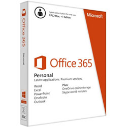 Microsoft Office 365 Personal 32/64 Thai Subscr 1YR Thailand Only Medialess