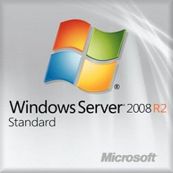 HP Microsoft Windows Server 2008 R2 Standard Edition Reseller Option Kit en/ja/ko Software - 589256-371