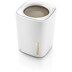 Philips BT100W Bluetooth Wireless Portable Speaker (สีขาว) - BT100W/00