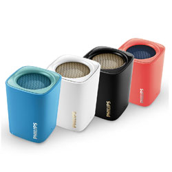 Philips BT100 Bluetooth Wireless Portable Speaker