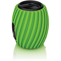 Philips SBA3011GRN Portable Speaker (Green) - SBA3011GRN/00