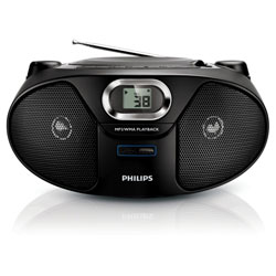 Philips CD Soundmachine (เครื่องเล่น CD MP3 WMA) - AZ385/12