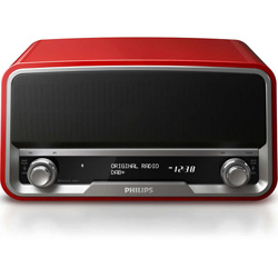 Philips Original Radio (Bluetooth, DAB+, FM, USB port for charging) - ORT7500/10