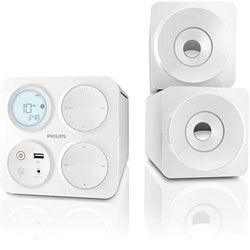 Philips Cube Micro Sound System White Mcm1055 98 In