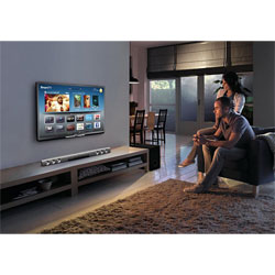 Philips Blu-ray Soundbar Home Theater (3D Blu-ray, Wireless Subwoofer, Built-in WiFi) - HTB5150KD/98