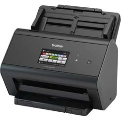 Brother ImageCenter ADS-2800W Wireless Document Scanner for Mid to Large Size Workgroups